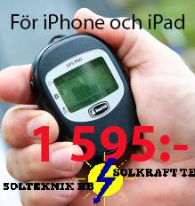 GPS för iPhone och IPad