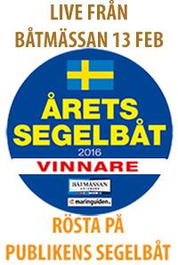 Årets segelbåt live från Båtmässan 13 februari